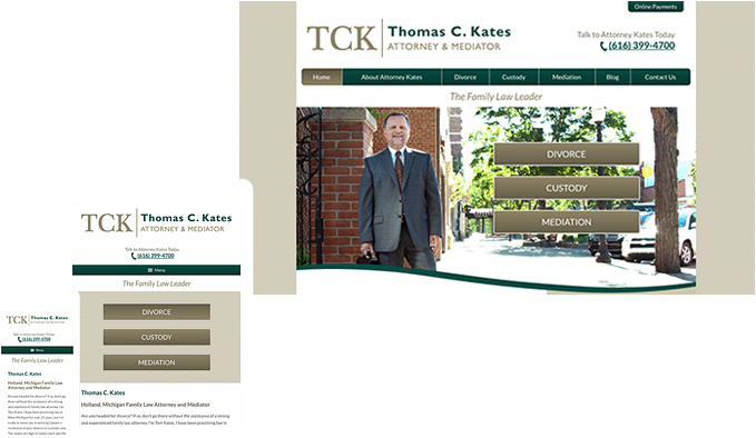 The Modern Firm - Attorney Website Design, Small Law Firm Websites ...