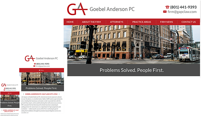 The Modern Firm Attorney Website Design Small Law Firm Websites Lawyer Websites