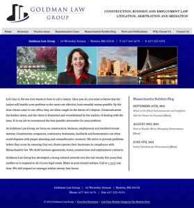 Massachusetts Law Firm Website Design