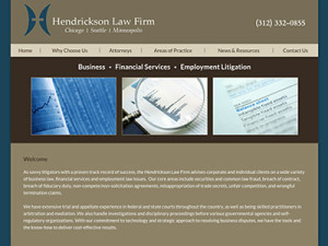 Women Owned Law Firm Website Design