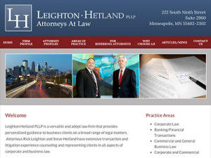 Minneapolis Attorney Website Design