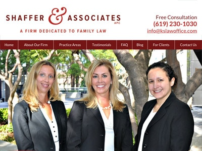 San Diego Divorce Attorney Website