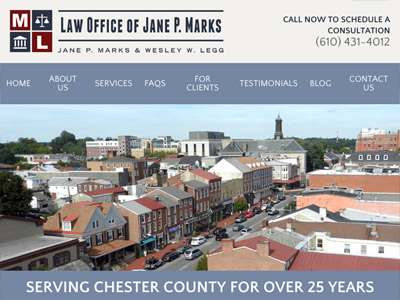 Law Firm Website design for Law Office of Jane P. Mar…