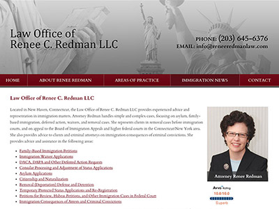 Law Firm Website design for Law Office of Renee C. Re…