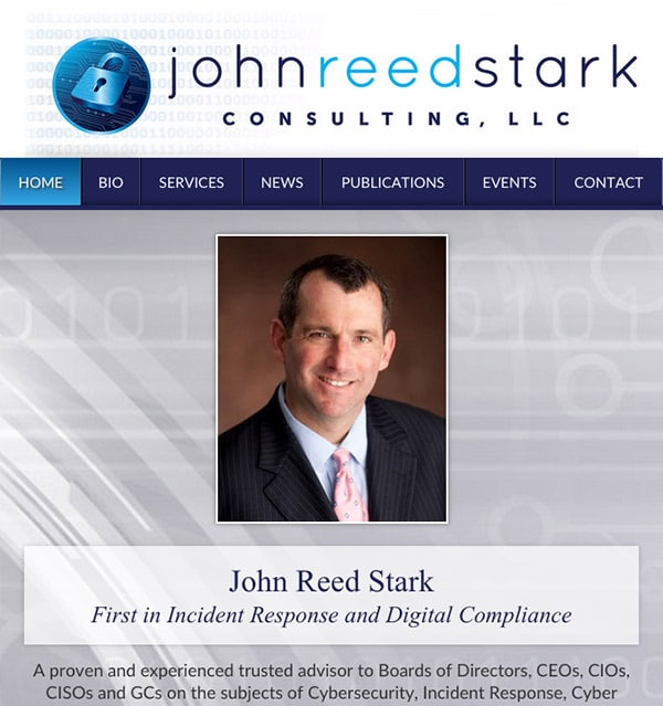 Mobile Friendly Law Firm Webiste for John Reed Stark Consulting, LLC