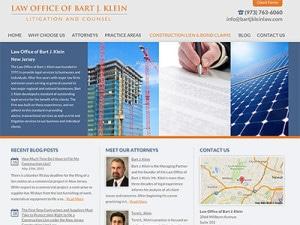 New Jersey Law Firm Website Design