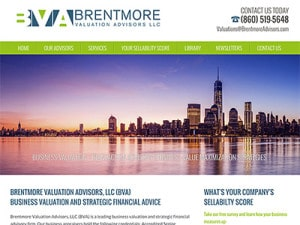 Business Valuation Website Design
