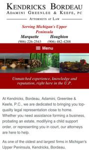 Mobile Friendly Law Firm Website Design