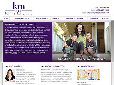 Minneapolis Divorce Lawyer Website