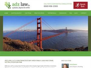 San Mateo Law Firm Website Design