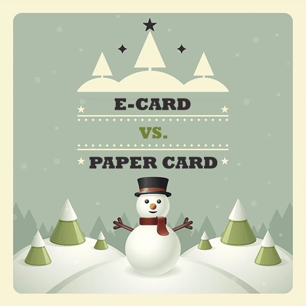 eCard vs Paper Card
