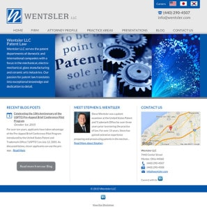 Patent Law Attorney Website