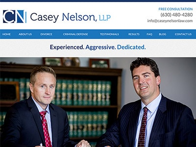 Wheaton IL Law Firm Website Design