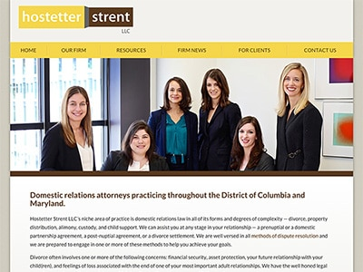 Website Design for Hostetter Strent LLC