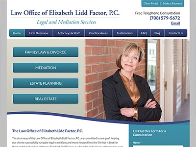 Law Firm Website design for Law Office of Elizabeth L…