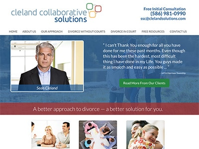 Website Design for Cleland Collaborative Sol…