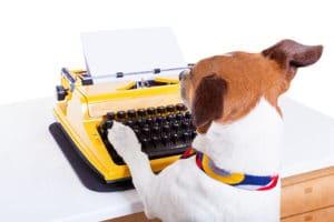 Dog Website Writer
