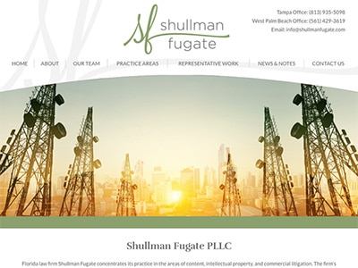 Website Design for Shullman Fugate PLLC
