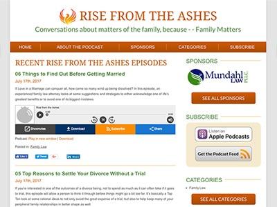 Law Firm Website design for Mundahl Law, PLLC - Rise…