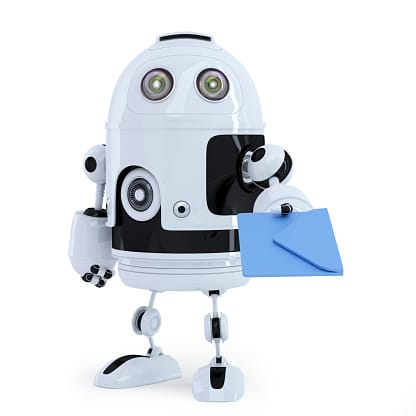 Robot Delivering Mail