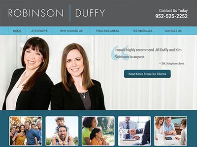 Website Design for Robinson Duffy