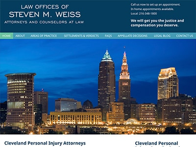 Law Firm Website design for Law Offices of Steven M.…