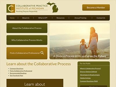 Law Firm Website design for Collaborative Practice In…