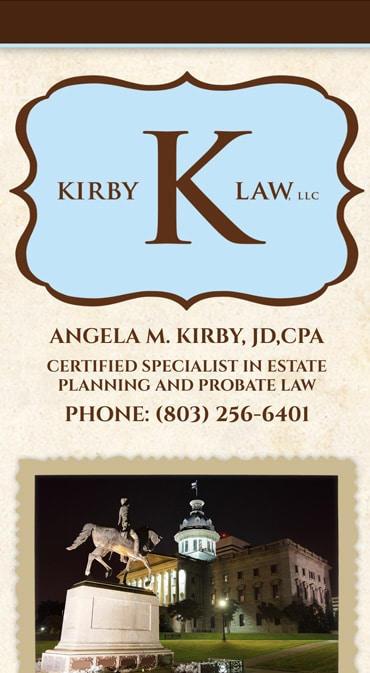 Responsive Mobile Attorney Website for Kirby Law, LLC
