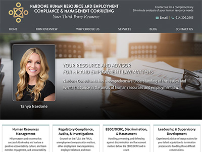 Law Firm Website design for Nardone HR & Management C…