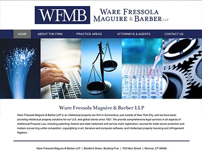 Law Firm Website design for Ware Fressola Maguire & B…
