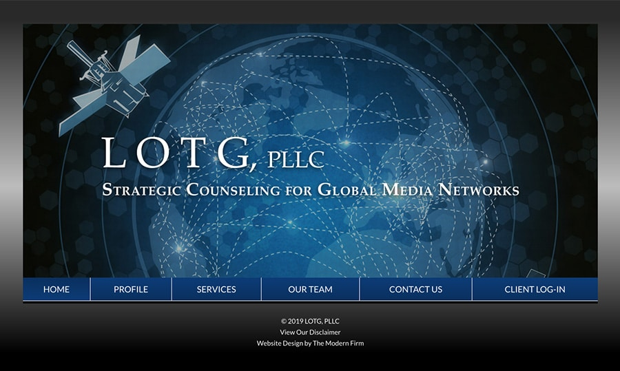Law Firm Website for LOTG, PLLC