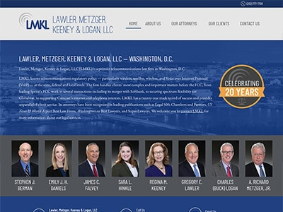 Law Firm Website design for Lawler, Metzger, Keeney &…
