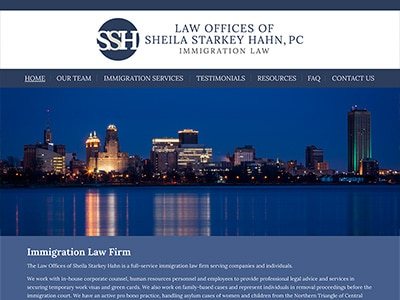 Law Firm Website design for Law Offices of Sheila Sta…