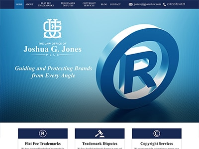 Website Design for The Law Office of Joshua…