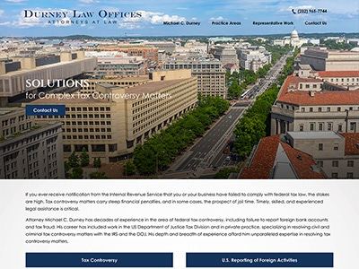 Law Firm Website design for Law Offices of Michael C.…