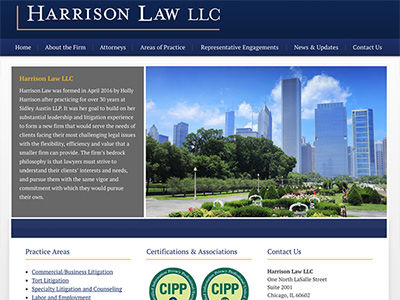 Illinois Law Firm Website Design