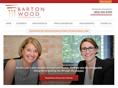 Utah Law Firm Website Design