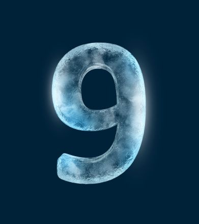 Number 9 in Ice