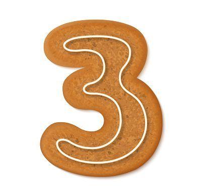 Gingerbread Number 3